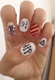harry potter nail art harry potter nails harry potter and harry