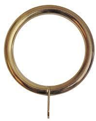 Antique Brass Curtain Rings Renaissance 28mm 25mm Extensis Metal Curtain Pole Rings Antique