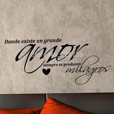 Vinyl Wall Decals For Bedroom Aliexpress Com Buy Vinyl Wall Decal Sticker Amor Arte De La