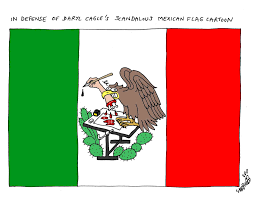 Mexican American Flag My Mexican Flag Cartoon And Angry Readers Nj Com