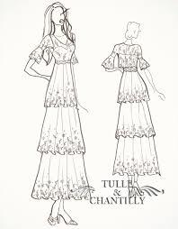 1910s inspired wedding dress tulle u0026 chantilly wedding blog