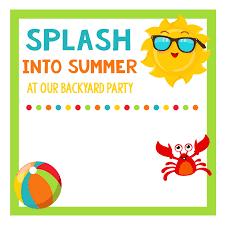 summer party invitations marialonghi com