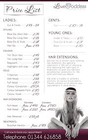 hairstyle price list best 25 hair salon prices ideas on pinterest beauty price list