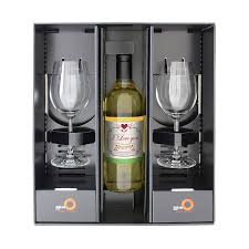 wine set gifts personalised white wine gift set by sassy bloom as seen on tv
