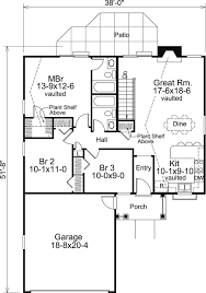 Floor Plan Of A House by 138 Best House Plans Images On Pinterest Architecture House