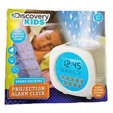 light projection alarm clock discovery kids light projection alarm clock with sound machine