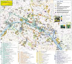Chicago Attractions Map Paris Top Tourist Attractions Map City Sightseeting Route Planner