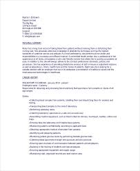 Entry Level Phlebotomy Resume Examples by Phlebotomy Resume Template 6 Free Word Pdf Documents Download