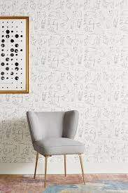 wallpapers interior design wallpaper anthropologie