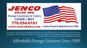 jenco sales inc storage containers newnan ga