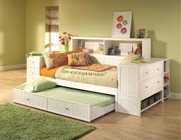 Design For Trundle Day Beds Ideas Daybed With Shelves Bedroom Daybed Trundle Daybed Open