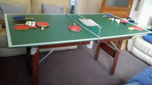 snooker table tennis table pool snooker table tennis table on folding legs in brighton