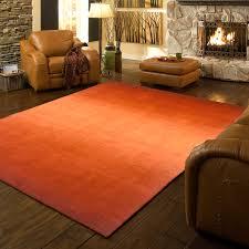 Modern Orange Rugs by Metropolitan Ombre Rug Paprika 2 U0027 3