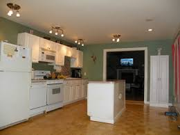 one wall kitchen with island home decoration ideas