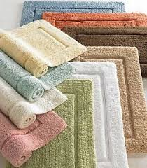 Luxury Bath Rugs Large Bathroom Rugs Solid Colors 24x40 Plush Cotton