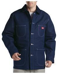 Denim Blue by Denim Blanket Lined Chore Coat For Men Dickies