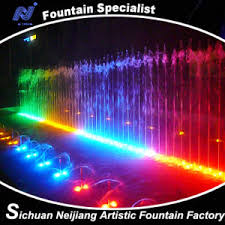 water fountain with lights china musical water fountain with lighting effects china fountain
