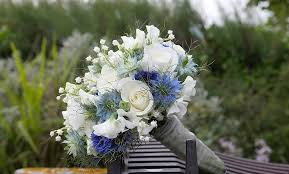 wedding flowers blue and white our wedding wedding flowers toms