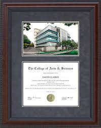 of alabama diploma frame diploma frame with licensed uc irvine cus lithograph wordyisms