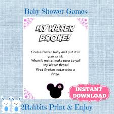 my water baby shower 21 best mickey mouse minnie mouse inspired disney baby shower