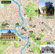 Rome On World Map Rome Tourist Map Rome Travel Map Rome Political Map