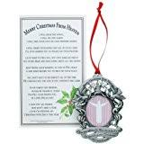 amazon com merry christmas from heaven ornament personalized