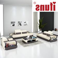 Modern Leather Living Room Furniture Modern Sectional Living Room Sets Ifuns Modern Design Genuine