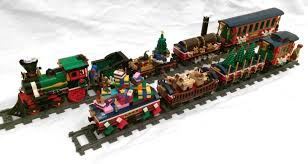 mod moc expanding 10254 winter holiday train lego town