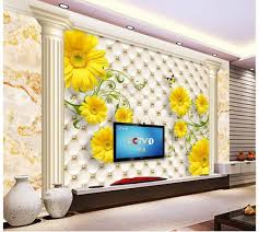 compare prices on roman wall murals online shopping buy low price 3d wallpaper for room marble roman column leather chrysanthemum background wall murals wall 3d wallpaper