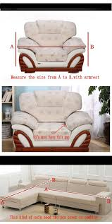 Couchcovers Sectional Couch Covers L Shaped Sofa Cover Elastic Universal Wrap