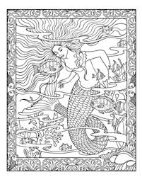 mythical mermaids coloring book 01 mermaids