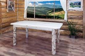 rustic log dining room tables rustic log dining room table 6 ft amish made kitchen tables montana