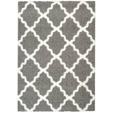 Rugs Modern by Area Rugs Astounding Grey And White Shag Rug Grey And White Shag
