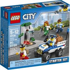 Barnes And Noble Legos 60136 Lego City Police Starter Set By Lego Systems Inc