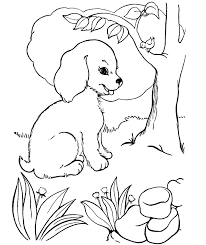 nice dog coloring sheets coloring pages 4321 unknown