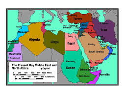 middle east map with country name continents what are the seven continent region how is a region
