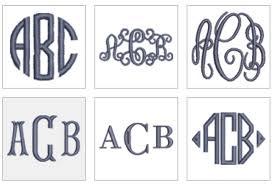 monogram initials monogram initials and names personalisation company london