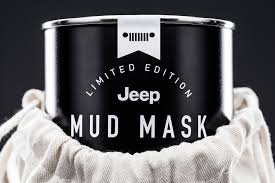jeeps jeep is making limited edition mud masks for adventure deprived