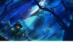 blue halloween wallpapers u2013 halloween wizard