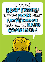 Republican Halloween Meme - funny father s day cards cardfool free postage included