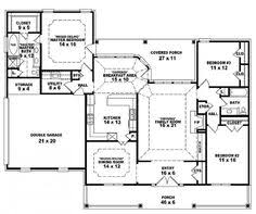 one story open floor house plans precious one story house plans with bedrooms on same side 5 open