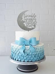 gender reveal cake topper shower cake topper twinkle twinkle cake topper baby