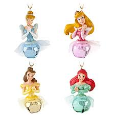 jingle bell disney princess ornament set 4 pc i am obsessed with