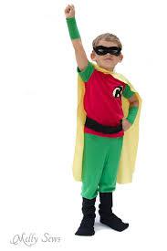 sewing pattern ninja costume batman and robin costume diy with free pants pattern melly sews