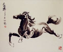 Home Interiors Horse Pictures decor horse painting asian for horse artwork and home interior