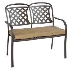 aluminum garden bench bench decoration