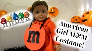 m m costume diy american girl m m costume