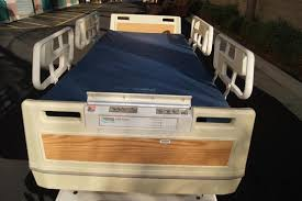 hill rom adjustable reclining electric hospital beds for sale san