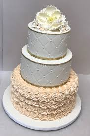 peach ombre wedding cake custom wedding cakes millers bakery
