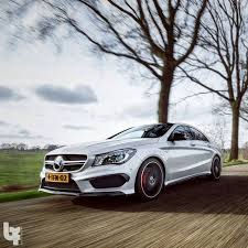 what does amg mercedes the cla45 amg doing what it does european model shown